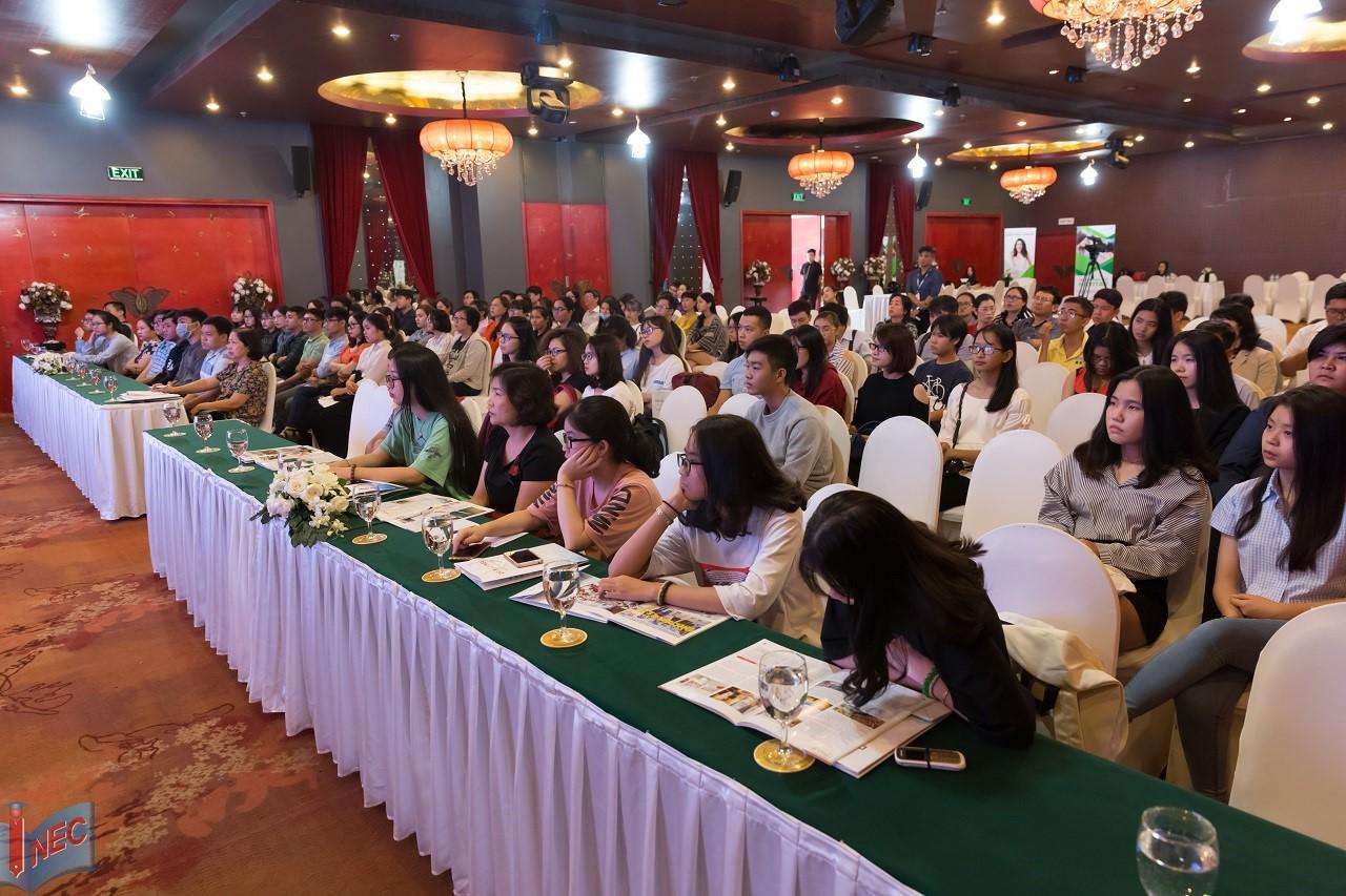 Hội thảo du học Úc của INEC luôn thu hút sự quan tâm của đông đảo phụ huynh và học sinh sinh viên